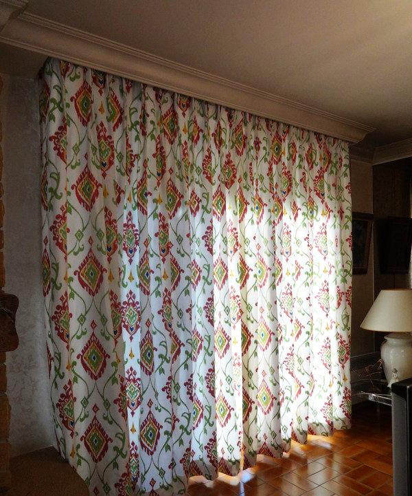 Fabrication de rideau